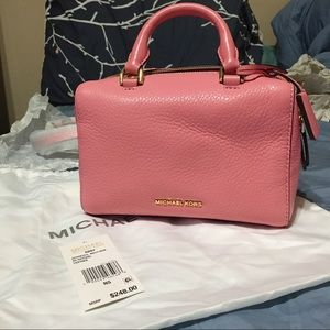 Michael Kors Pink Mini Kirby Shoulder Bag